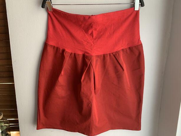 Spódnica ciążowa r. M czerwona