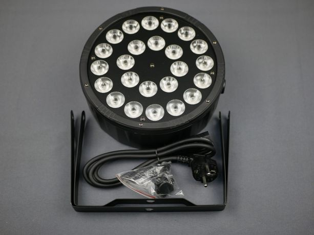 LED Par 24*12W 4в1 DMX прожектор, дискотека, сцена 24x12 Вт