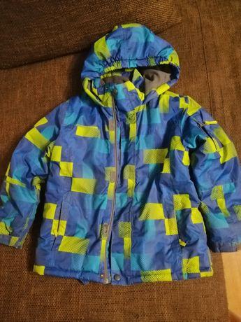Kurtka narciarska chłopiec 128