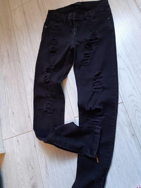 Spodnie Tally weijl r.32 (czarne)