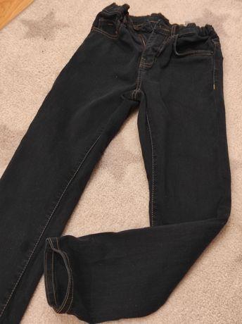 Spodnie jeansowe Zara 134