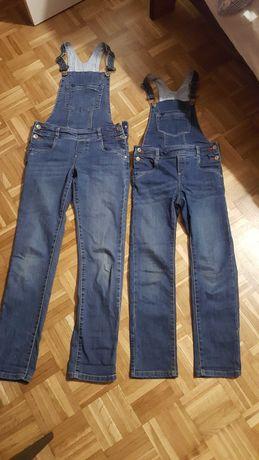 spodnie i ogrodziczki dla dziewczynek