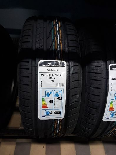 4x 225/50R17 Uniroyal RainSport 5 98V XL FR nowe opony letnie