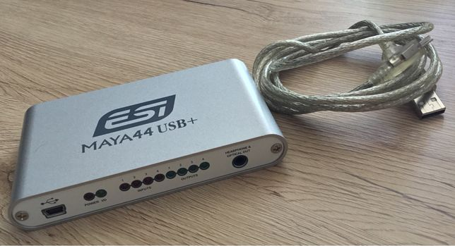 ESI MAYA44 USB+ 4-in/4-out USB Interfejs Audio