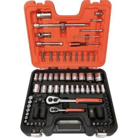 BAHCO Zestaw kluczy nasadowych S800 77 elementów