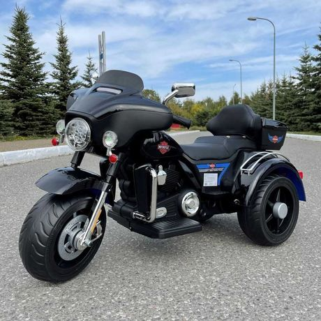 Motor HARLEY Trajka Elektryczny Auto AKUMULATOR Motorek Chopper DZIECI