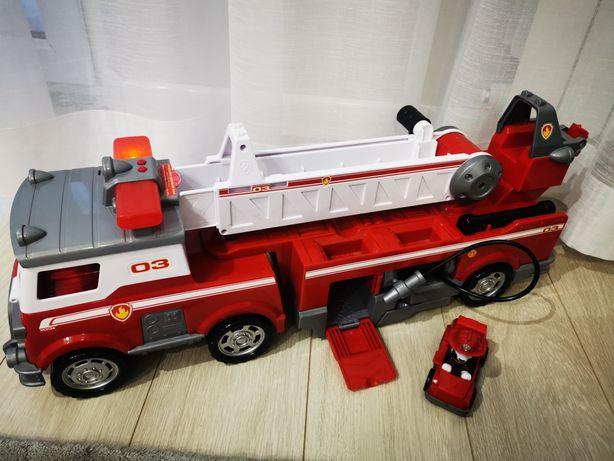 Samochód straż pożarna psi patrol Marshalla