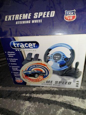 Kierownica Tracę Extreme Speed Pc/PS2