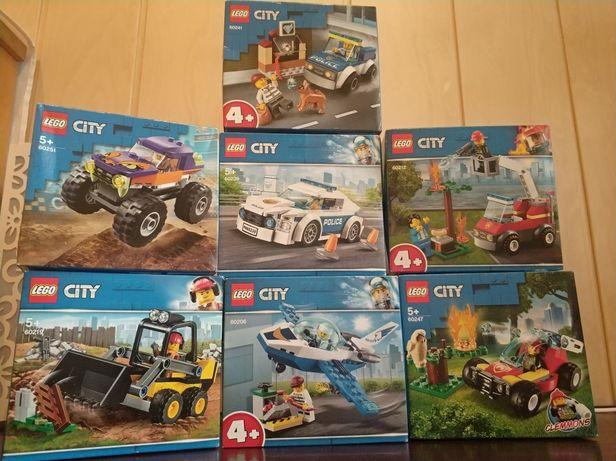 Lego City 60285, 60219, 60239, 60206, 60241, 60251, 60212, 60247 Wys