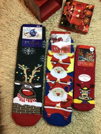 Новогодние носочки