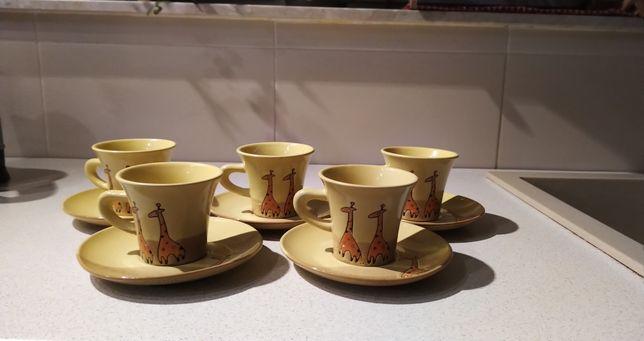 Zestaw kawowy -5szt