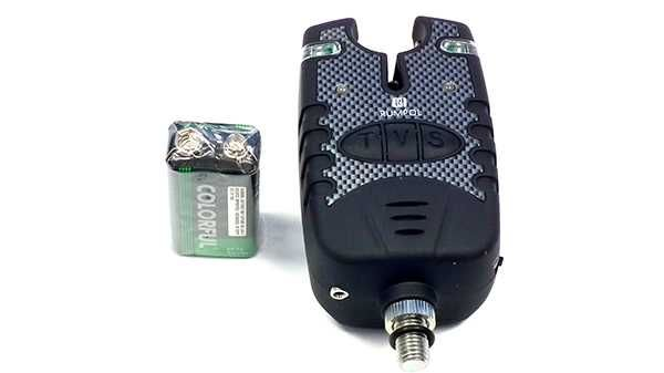 Gumowany sygnalizator brań RUMPOL JHA-635 + bateria