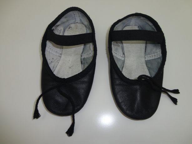Sabrinas de Ballet Pretas; Marca BLOCH; Nº24