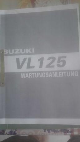 Suzuki Intruder 125 książka naprawcza