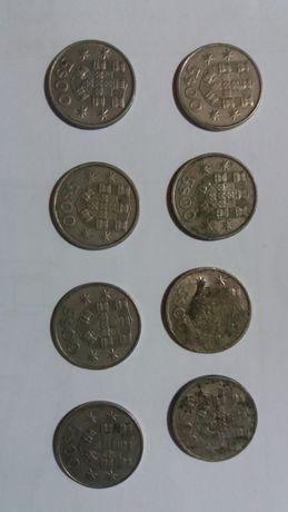 Moedas 5$00 Republica Portuguesa