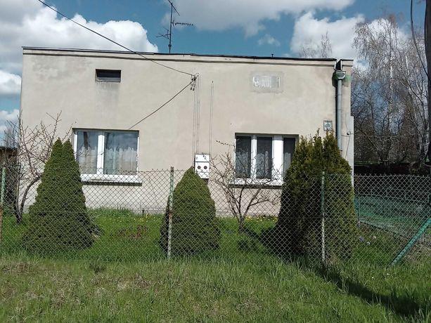 Działka 705 m kw. z domem 70 m kw Łódź Górna