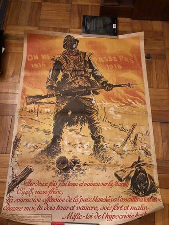 Cartaz Primeira Grande Guerra