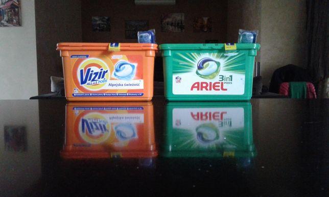 Капсулы для стирки ARIEL-38 шт И VIZIR-41 шт