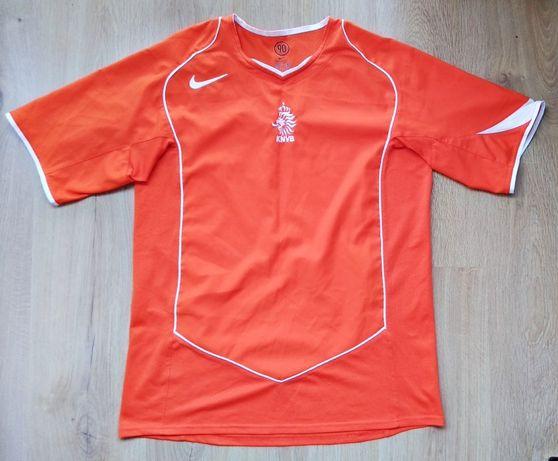 Koszulka Holandia Euro 2004 Nike home; Robben, Davids, v. Nistelrooy