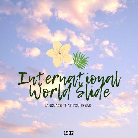Перевод сайтов, страниц, рекламы, контента. International World Slide.