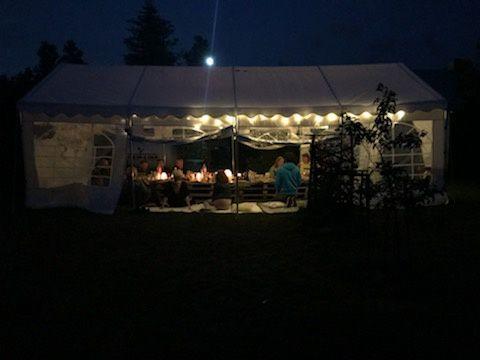 Namiot wynajem na komunie, imprezę , urodziny etc.
