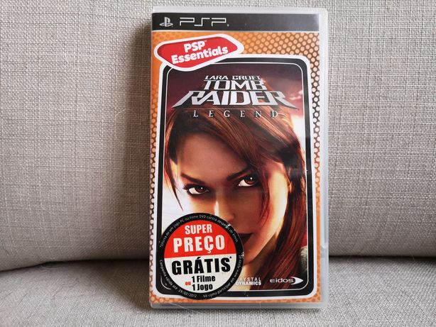 Lara Croft Tomb Raider Legend - PSP