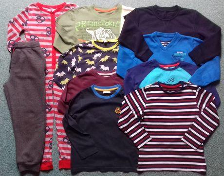 Bluzeczki-piżamka-spodnie-dresy5-6lat,6-7lat Next,Dunnes,George