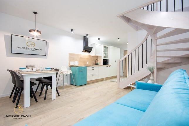 Domki apartamentowe Morskie Piaski | Darłówko - wczasy 500 m od plaży
