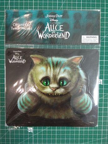 Магнит с Чеширским котом 20*16 см, 10 частей Алиса в стране чудес