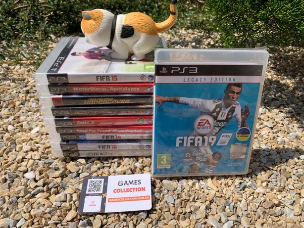 FIFA 19 16 14 15 skate need for speed motor storm (PS3)