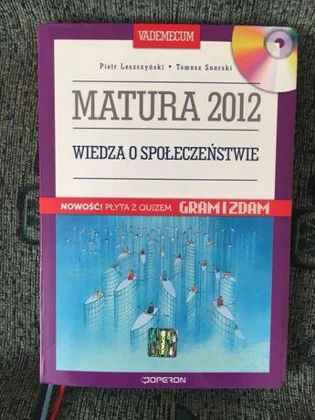 Wiedza o społeczeństwie Vademecum Operon +CD