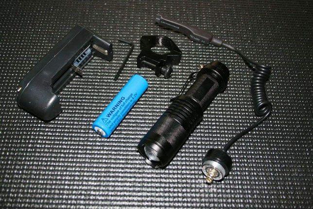 Conjunto Lanterna de Caça 1600lm