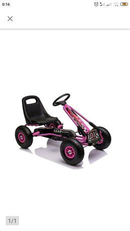 NOWY Gokart z pedalami Ricco Kids Toys Gokard Na Pedały Dla Dzieci HIT