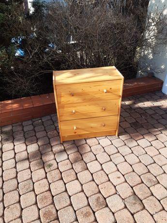 Komoda szafka z szufladami drewniana