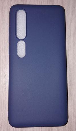Чехол Силиконовый Xiaomi Mi 10 СИНИЙ