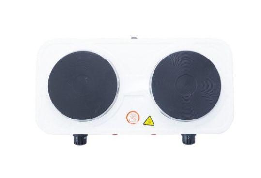 Двухконфорочная электроплита дисковая настольная электрическая плита