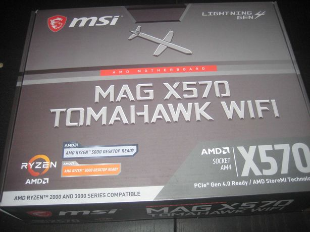 motherboard msi x570 tomahawk wifi