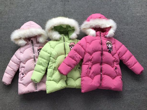 Куртка демисезонная для девочек, рост от 92 см до 110 см