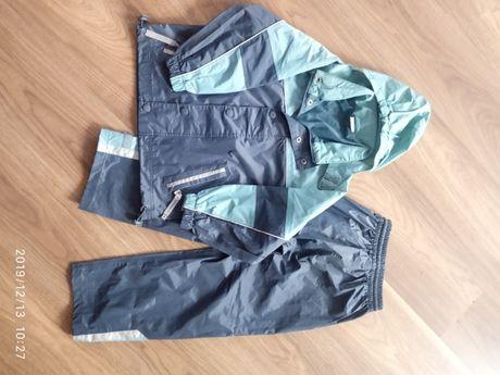 Kombinezon kurtka i spodnie wiosenno-jesienny przeciwdeszczowy.Roz.116