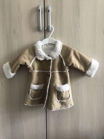 Kurtka płaszczyk kożuszek dziecięcy chłopiec dziewczynka 62