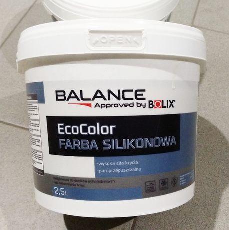 Farba Silikonowa Bolix Balance Ecocolor kolor BS1