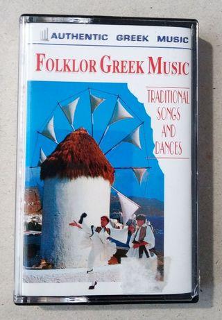 Folklor Greek Music - oryginalna kaseta audio