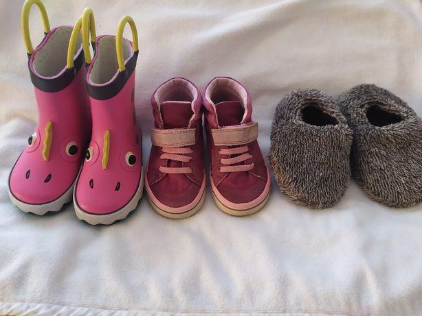 Чоботи чобітки для дівчинки next хайтопи clarks кеди тапки h&h