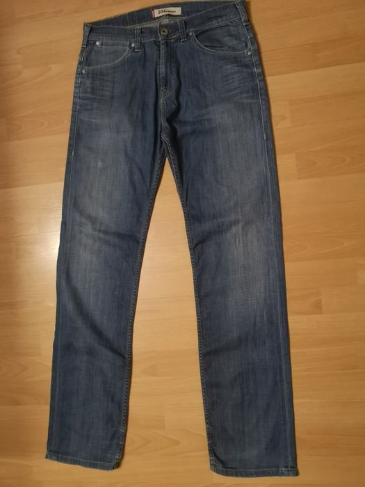 Spodnie jeansowe męskie Levis 504 rozmiar33×34 Rabka-Zdrój - image 1