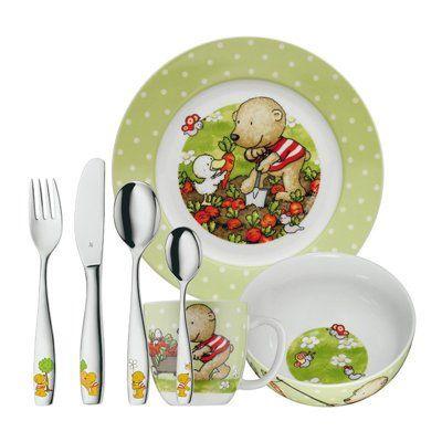 Набор детской посуды 7 предметов Pitzelpatz WMF