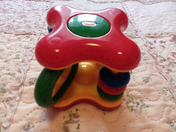 Развивающая игрушка куб с погремушкой Tolo