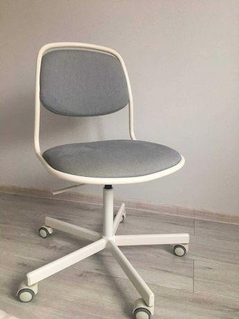 Krzesło obrotowe białe ikea ORFJALL