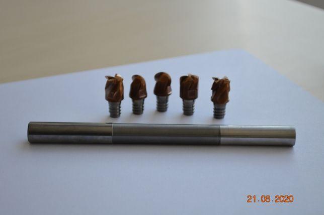 Frez węglikowy składany D12x130 M6 KENDU z końcówkami