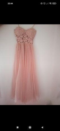 Sukienka różowa ASOS