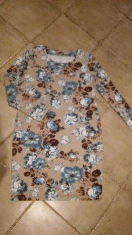 Okazja! Sukienka ciążowa kwiaty piękna
